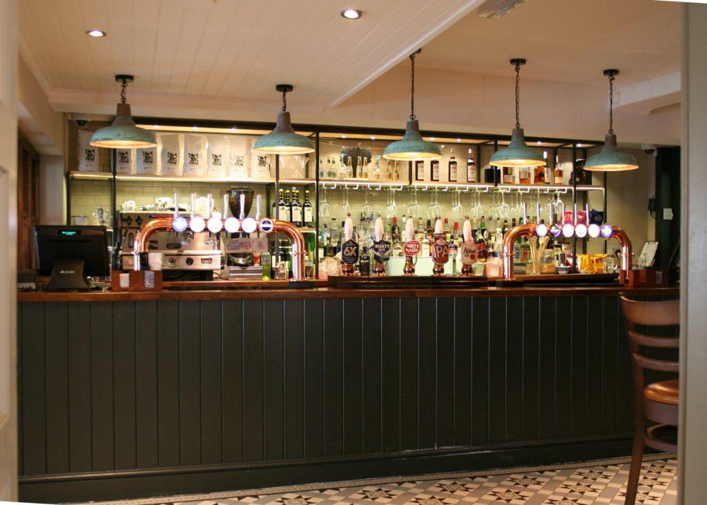 Kings Arms Pub bury St Edmunds bar
